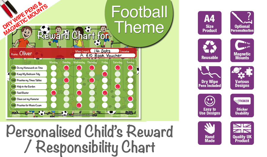 a4behaviourkidsresponsibilityrewardchartfootballsm