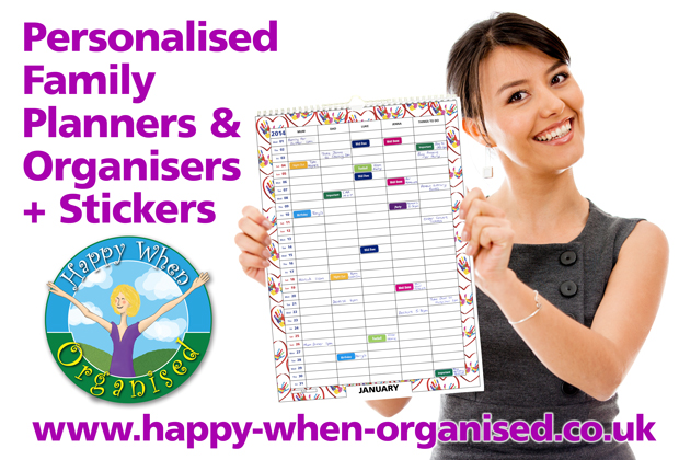 Family Planner Calendar Uk : Personalised family planner organisers calendars